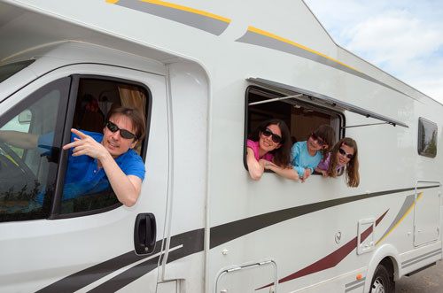 family-in-motorhome