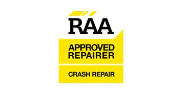 RAA accredited crash repairer